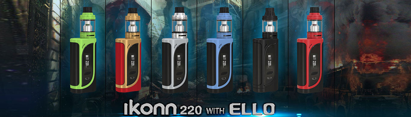 ismoka-eleaf-ikonn-tc-220w-grip-full-kit-s-clearomizerem-ello