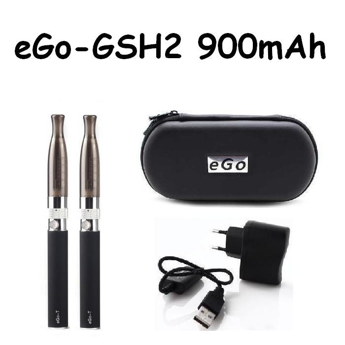 Green Sound Elektronická cigareta eGo-GSH2 900mAh černá 2ks