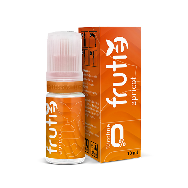 Frutie - Meruňka (Apricot) 10ml Množství nikotinu: 0mg