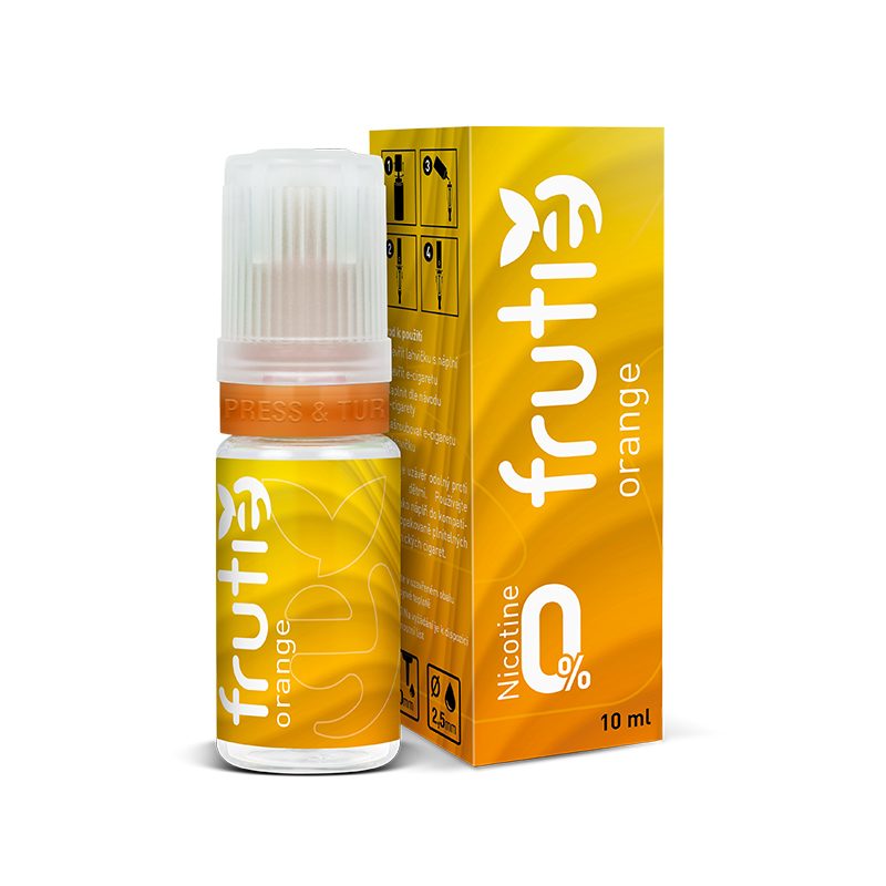 Frutie - Pomeranč (Orange) 10ml Množství nikotinu: 0mg