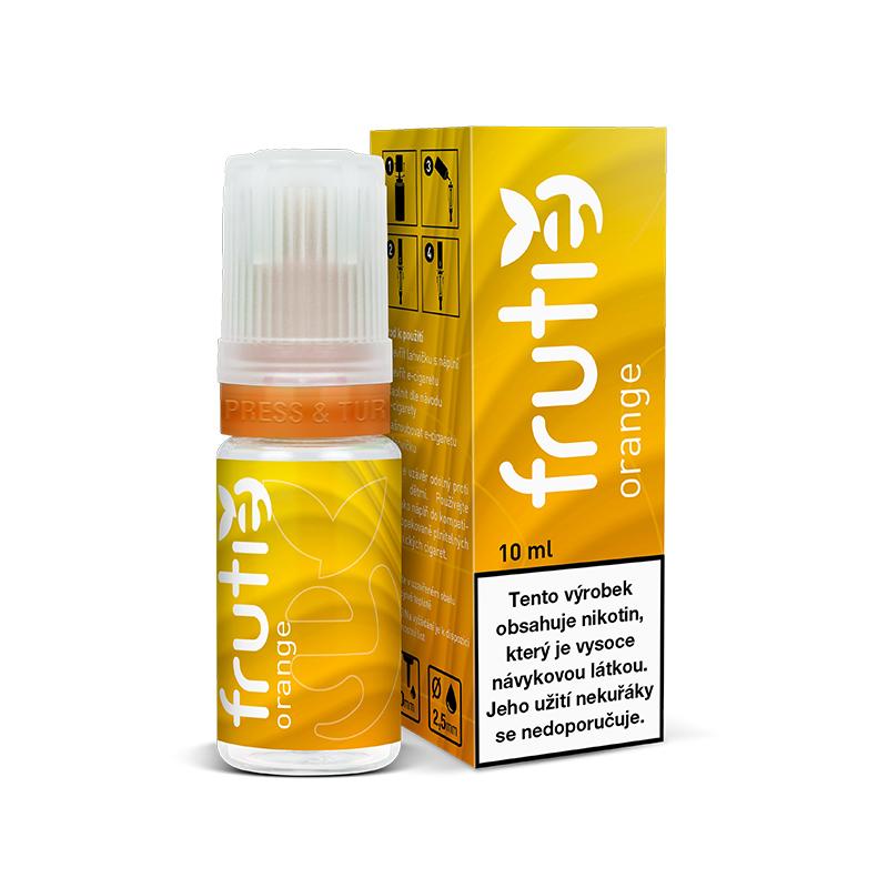 Frutie - Pomeranč (Orange) 10ml Množství nikotinu: 2mg